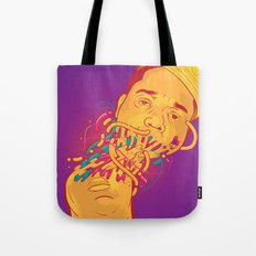 Happily melting Notorious Tote Bag