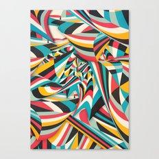 Don't Come Close Canvas Print