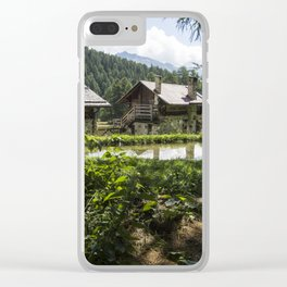 Nature in Italy Clear iPhone Case