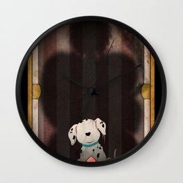 Shadow Collection, Series 1 - Bone Wall Clock