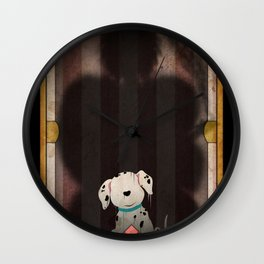 Shadow Collection, Series 1 - Bone Wall Clock