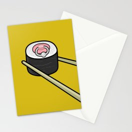 Pierced Nipple Maki Stationery Cards