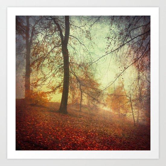 Fall Tapestry Art Print