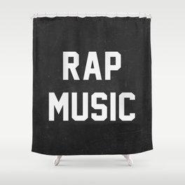 Rap Music Shower Curtain