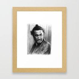 Toshiro Mifune Framed Art Print