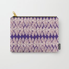 tie dye small diamond Carry-All Pouch