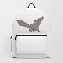 Origami Wolf Backpack