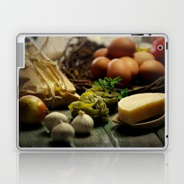 Fresh Pasta and ingredients Laptop & iPad Skin