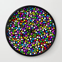 Bubble GUM Colorful Balls Wall Clock
