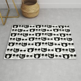 Hipster Cats Rug