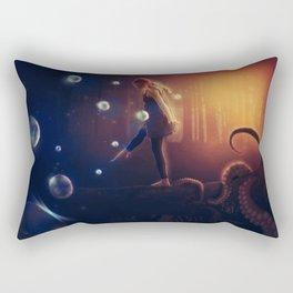 I Live Suspended Rectangular Pillow