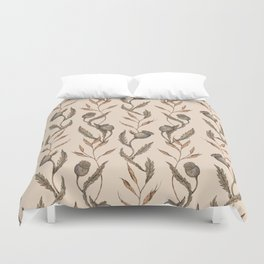 Poppy Pod Pattern Duvet Cover