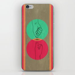 Pull your finger out  iPhone Skin
