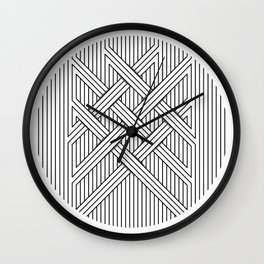 Linea pattern Wall Clock