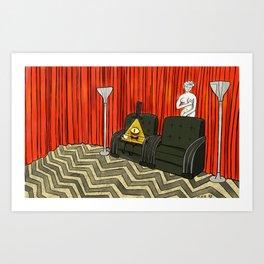 Evil in the Deep Woods Art Print