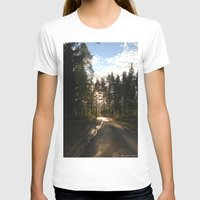 forrest T-shirts featuring My Forrest by Plutonian Oatmeal