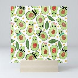 Stylish Avocados Mini Art Print