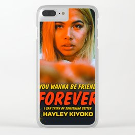 HAYLEY KIYOKO Clear iPhone Case