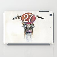 motorbike iPad Cases featuring Norton CS1 1927 -Motorbike by istraille