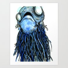 The Jelly  Art Print