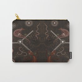 Three Billabongs - Australian Aboriginal Art Theme Carry-All Pouch