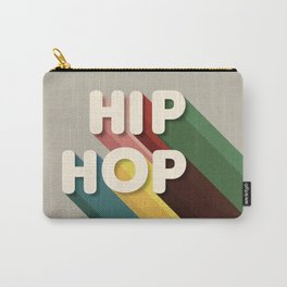 HIP HOP - typography Carry-All Pouch