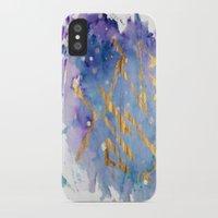 battlestar galactica iPhone & iPod Cases featuring Galactica by Maïlys Jans