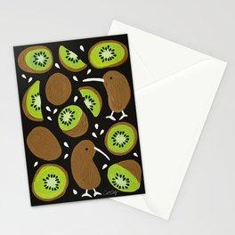 Kiwis & Kiwis – Charcoal Palette Stationery Cards
