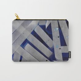 water stripes Carry-All Pouch