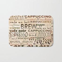 Coffee and Cream Bath Mat