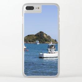 Island Bay Beach Clear iPhone Case