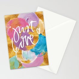 Holiday color Stationery Cards