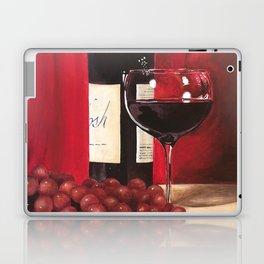 Red Wine, Still Life Laptop & iPad Skin