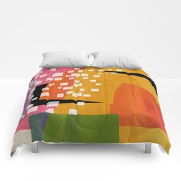 autumn day Comforters