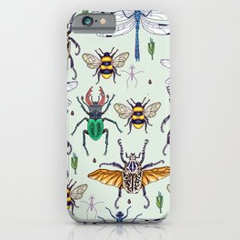 lucky insects iPhone Case