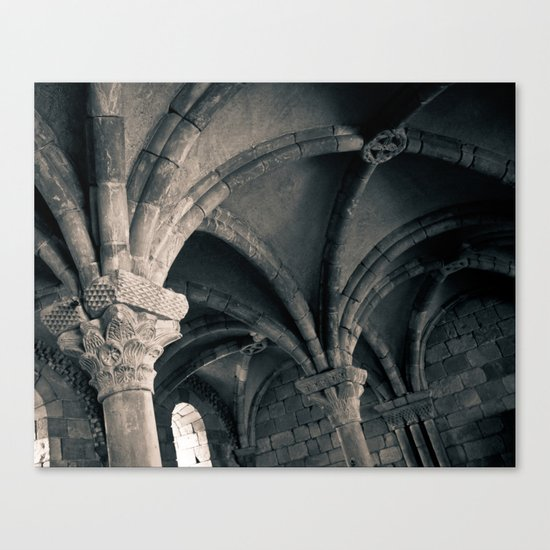 Arched Ceiling Canvas Print