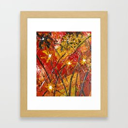 Floral freedom Framed Art Print