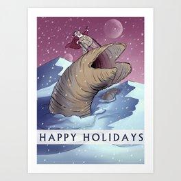 Dune Santa Art Print