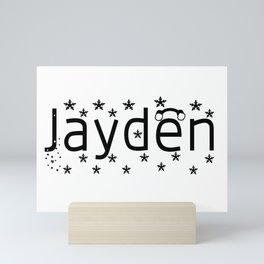Jayden Mini Art Print