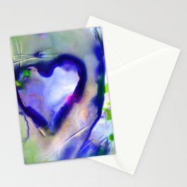 Heart Dreams 4C by Kathy Morton Stanion Stationery Cards