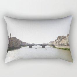 Arno River Rectangular Pillow