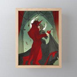 Dance with the Devil Framed Mini Art Print