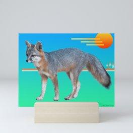 FoxySun Mini Art Print