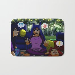 Ghost Stories for Christmas Bath Mat