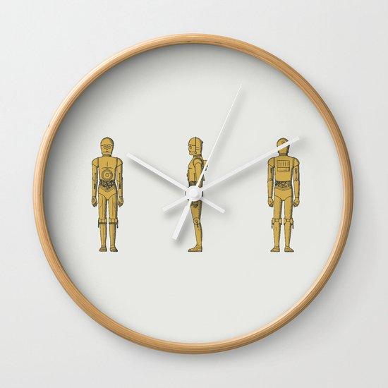 C-3PO Wall Clock