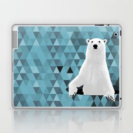 Polar Bear (in a hole in the ice) Laptop & iPad Skin