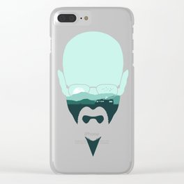 Heisenberg Clear iPhone Case