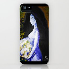 Mother Earth Remix iPhone Case