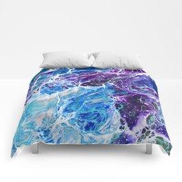 Iridescent Mermaid Comforters