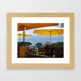 Table For Two Framed Art Print